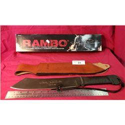 Licensed Rambo Knife