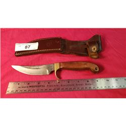 """Custom Made Olsen With Case-Bowie 4"""" Blade"""