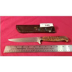 "Vintage German Trench Knife Ww1 6"" Blade"
