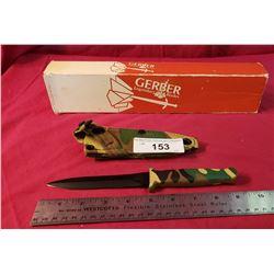 Gerber Camoflage Fighting Dagger