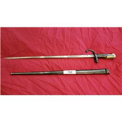 19Th Century French Sword Bayonet