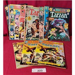 14 Vintage Tarzan Books