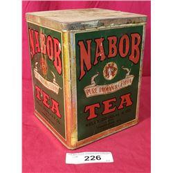 Vintage Nabob Tea Tin