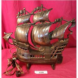 Quality Bronze Finish Ship