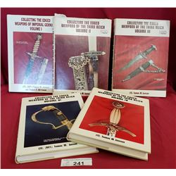 5 Hardcover Books, Weapons Of The 3Rd Reich
