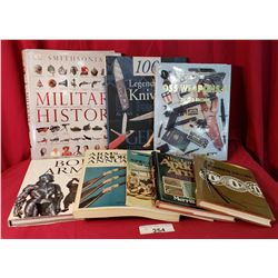 A Lot Of 8 Mixed Military Books
