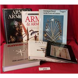 6 Books On Bayonets And Daggers