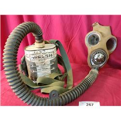 Ww2 Gas Mask With Attachment