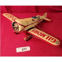 Wooden Gilmore Oil Plane