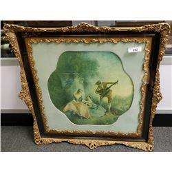 Ornately Framed French Print