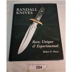 Randall Knife Book By R.Hunt