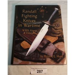 Hard Cover Randall Fighting Knife Book