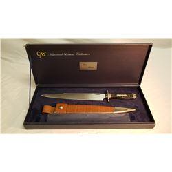 Bell Bowie Knife In Case