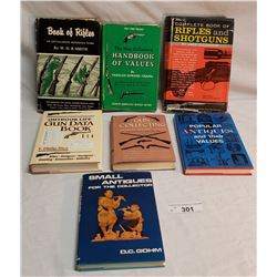 7 Books On Guns And Antiques