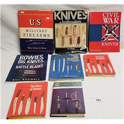 8 Assorted Military Books