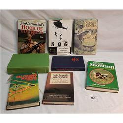 8 Vintage Hunting Books