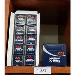 2 Cases New 22 Wmr Maximag 40 Grain 10 Boxes Per Case