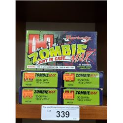 5 New Boxes Hornby - Zombie 30/30 Win 160 Grain Z-Max