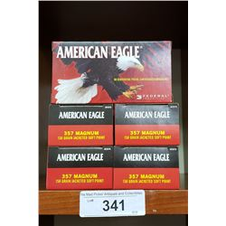 357 Magnum 5 New Boxes American Eagle Pistol Cartridges