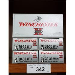 30-30 Win 5 New Boxes 170 Grain Silvertip