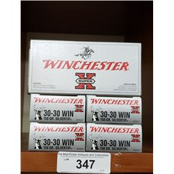 5 New Boxes Winchester 30-30 Win Silvertip