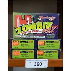 5 New Boxes Hornby Zombie 30-30 Win