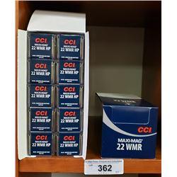 2 New Boxes - 10 Per Box Maximag, 22 Wmr