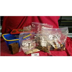 Large Lot Of Bagged 12 Gauge Shells, 303 British 7-35 Carcono - Federal 30-30, 30-06, Plus More Asso