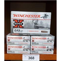 5 New Boxes 243 Win 100 Grain