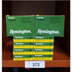 10 Boxes 20 Gauge 2 3/4, Remington Buckshot