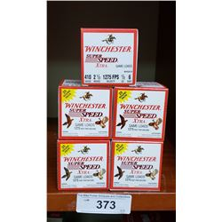 5 New Boxes Of Winchester 410 Gauge 2 1/2 Shells