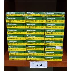 24 New In Box Remington 20Ga Slugger Plus 3 New Boxes Remington Express Rifled Slug