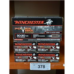 Winchester 5 New In Boxes 30-30 170Grain