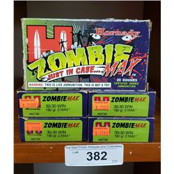 Hornby Zombie Max 30-30 Win 160Grain Z-Max 5 New Boxes
