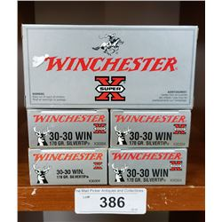 30-30 Winchester 5 New Boxes 150Grain Silvertip