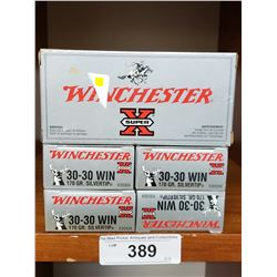 30-30 Winchester 5 New Boxes 170Grain Silvertip