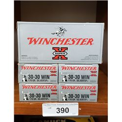 5 New In Box Winchester 30-30 170Grain