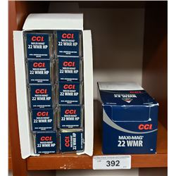 2 Cases - 20 Boxes Of Maxi Mag 22 Wmr
