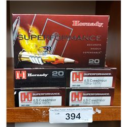 Hornby Super Performance 6.5 Creedmoor 129 Gr Sst