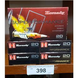 5 New Boxes Hornby Super Performance 6.5 Creedmoor 129 Grain Sst