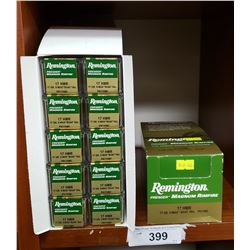 A Case Of Remington Rimfire With 10 Boxes 500 Magnum Cartridges 17Hmr - Boatail.