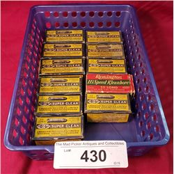 11 Boxes Of Vintage 22 Shells Full