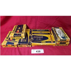 7 Boxes, 2 Boxes 30-30, 1 Box 308, 1 Box 270, 1 Box 303 British Sp, 1 Box 243 Winchester Sp, 1 Box C