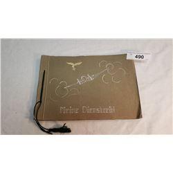 German Luftwaffe Officers Memory Album