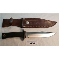 Stainless Muelay Hunter With Sheath