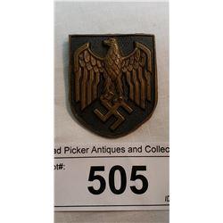 German Helmet Badge Desert Ww2