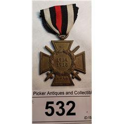 Ww1 German Veterans Svc Medal