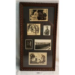 Cased Photos Of Postcards And Photos Of Hitler