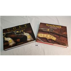 2 Handcover Winchester And Colt