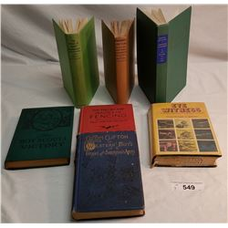 Collection Of Seven Military Handbooks